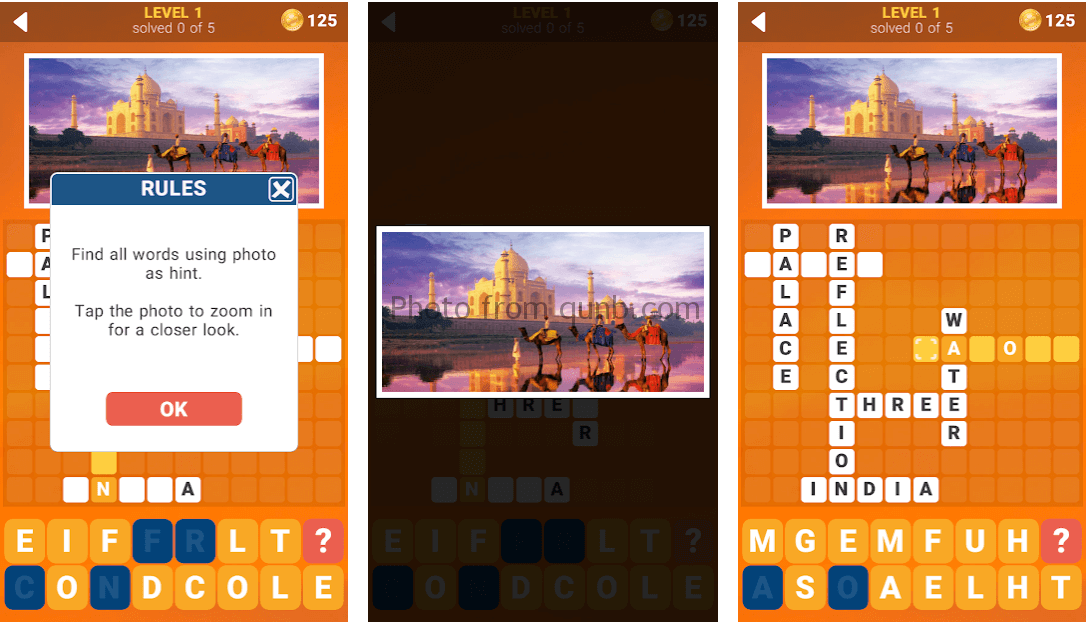 135 Photo Crosswords Level 2 Answers And Cheats Qunb