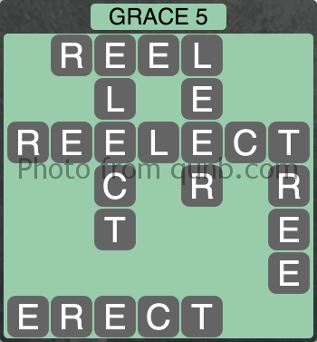 Wordscapes Grace 5 (Level 1029) Answers