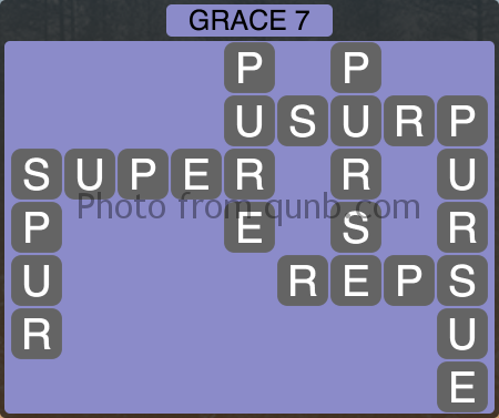 Wordscapes Grace 7 (Level 1031) Answers