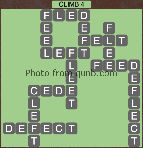 Wordscapes Climb 4 (Level 1044) Answers
