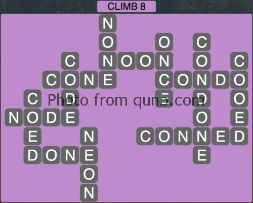 Wordscapes Climb 8 (Level 1048) Answers