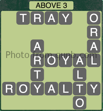 Wordscapes Above 3 (Level 1059) Answers