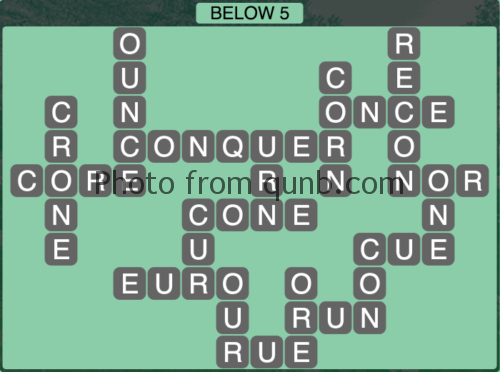 Wordscapes Below Vista Level 1089 1104 Answers And