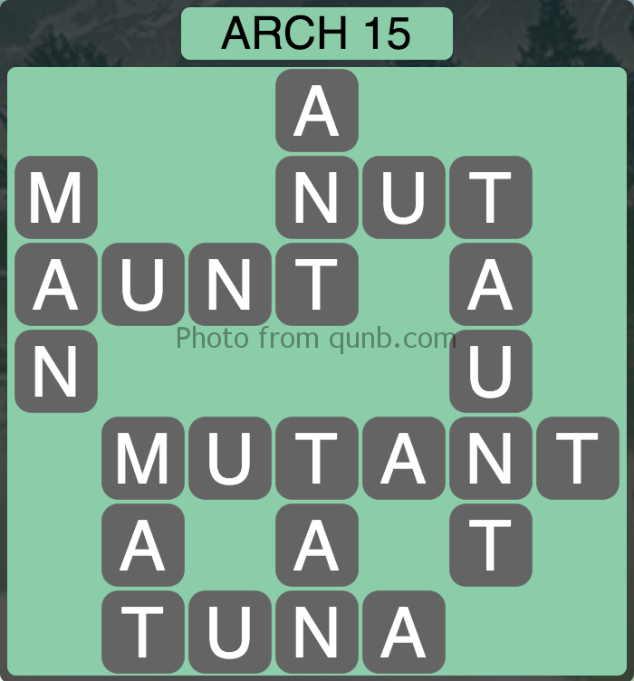 Wordscapes Level 127 (Arch 15) Answer