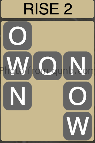 Wordscapes Rise 2 (Level 2) Answer and Cheat