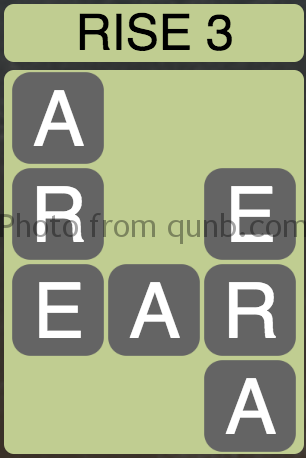 Wordscapes Rise 3 (Level 3) Answer and Cheat