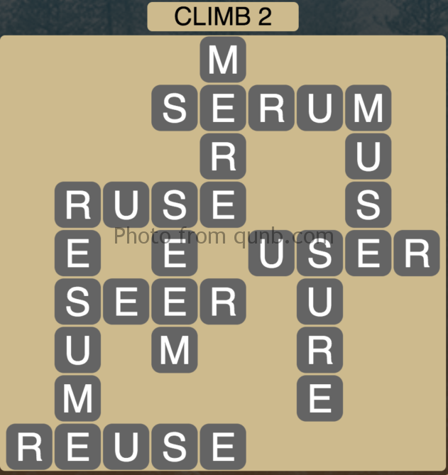 Wordscapes Climb 2 (Level 354) Answers