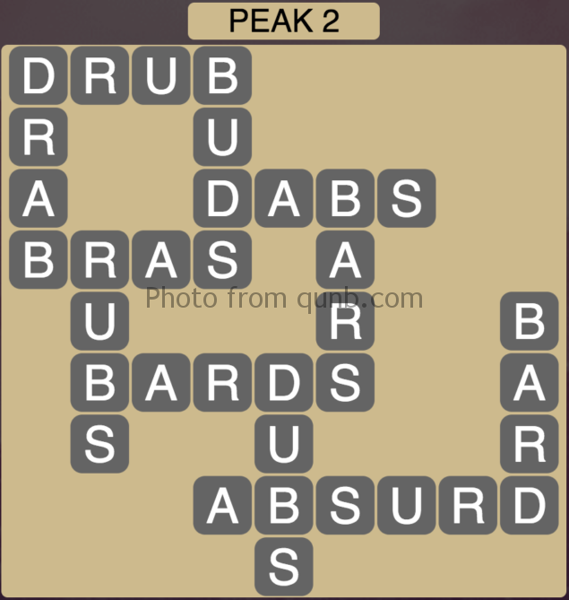 Wordscapes Peak 2 (Level 386) Answers