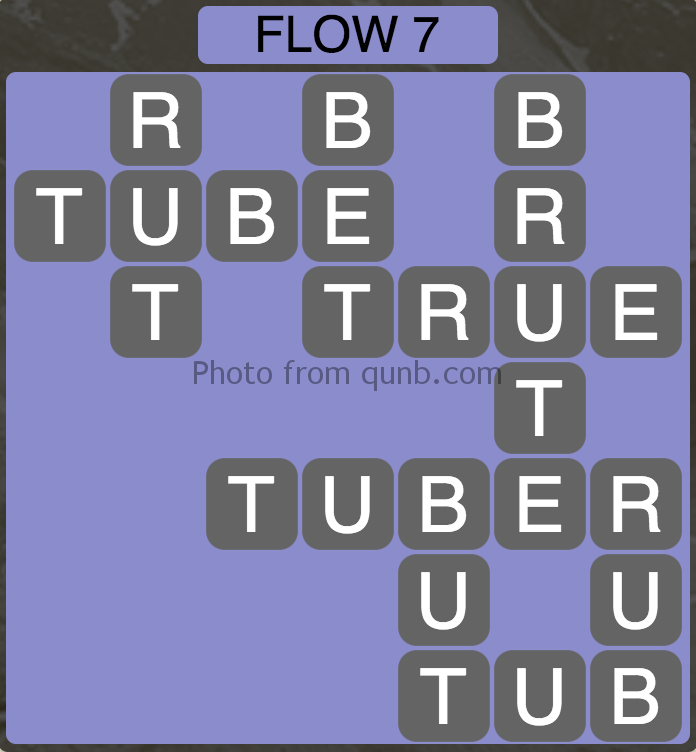 Wordscapes Level 39 (Flow 7) Answer