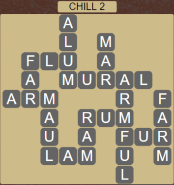 Wordscapes Chill 2 (Level 402) Answers
