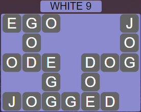 Wordscapes White 9 (Level 457) Answers