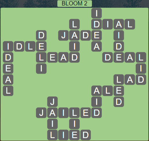 Wordscapes Bloom 2 (Level 514) Answers