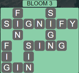Wordscapes Bloom 3 (Level 515) Answers