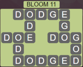 Wordscapes Bloom 11 (Level 523) Answers