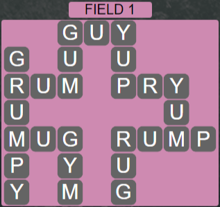 Wordscapes Field 1 (Level 529) Answers