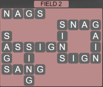 Wordscapes Field 2 (Level 530) Answers