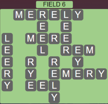 Wordscapes Field 6 (Level 534) Answers