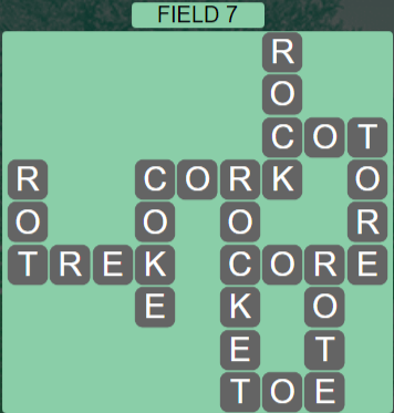 Wordscapes Field 7 (Level 535) Answers