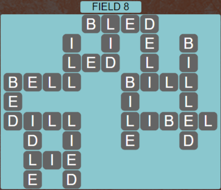 Wordscapes Field 8 (Level 536) Answers