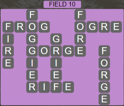 Wordscapes Field 10 (Level 538) Answers