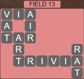 Wordscapes Field 13 (Level 541) Answers