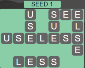 Wordscapes Seed 1 (Level 545) Answers