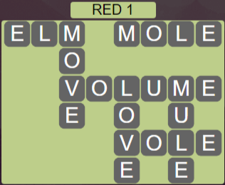 Wordscapes Red 1 (Level 593) Answers
