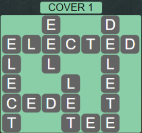 Wordscapes Cover 1 (Level 625) Answers