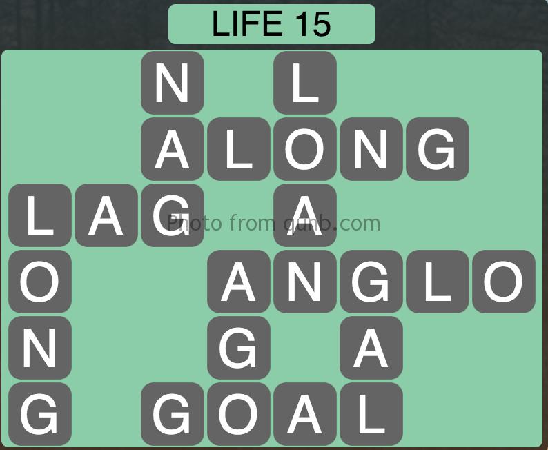 Wordscapes Level 79 (Life 15) Answer » Qunb