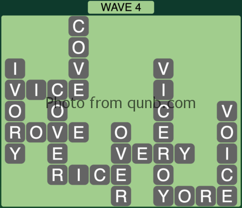 Wordscapes Wave 4 (Level 820) Answers