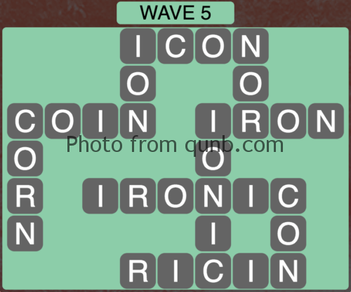 Wordscapes Wave 5 (Level 821) Answers