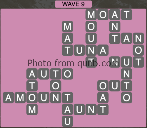 Wordscapes Wave 9 (Level 825) Answers