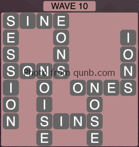 Wordscapes Wave 10 (Level 826) Answers