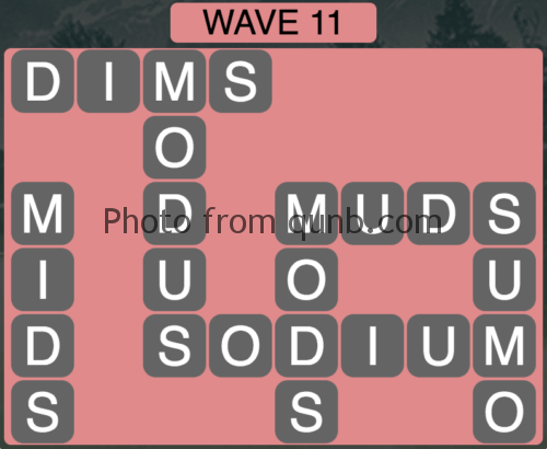 Wordscapes Wave 11 (Level 827) Answers