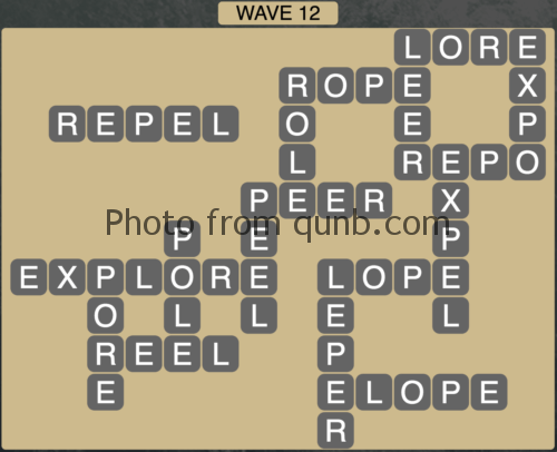 Wordscapes Wave 12 (Level 828) Answers
