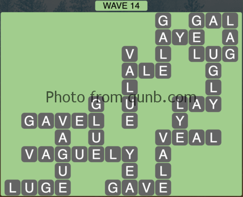 Wordscapes Wave 14 (Level 830) Answers