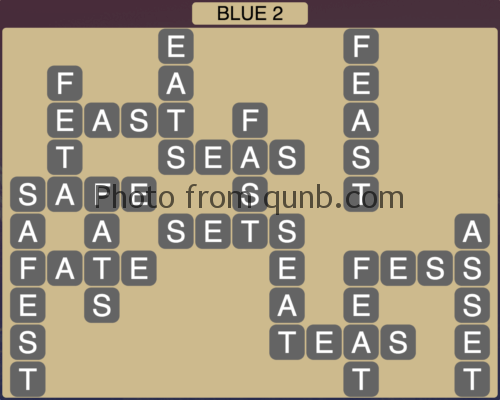 Wordscapes Blue 2 (Level 850) Answers
