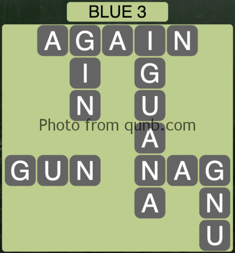 Wordscapes Blue 3 (Level 851) Answers