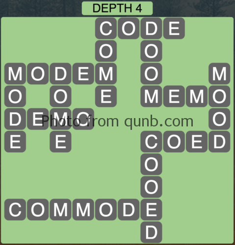 Wordscapes Depth 4 (Level 868) Answers