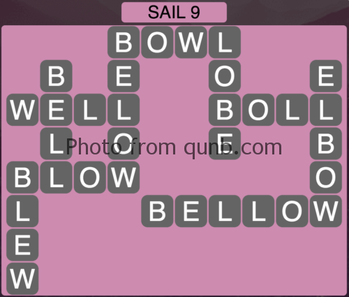 Wordscapes Sail 9 (Level 889) Answers