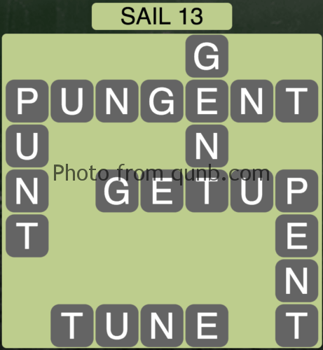 Wordscapes Sail 13 (Level 893) Answers