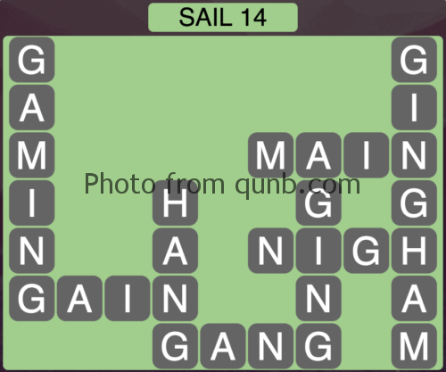 Wordscapes Sail 14 (Level 894) Answers