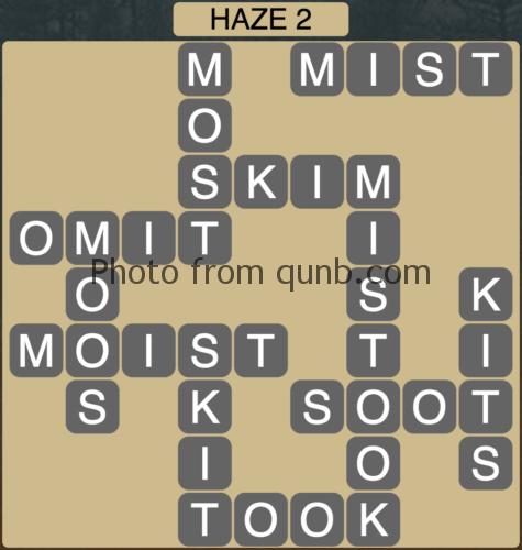 Wordscapes Haze 2 (Level 898) Answers