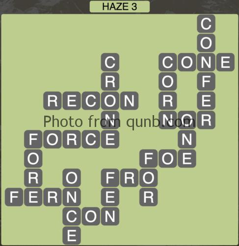 Wordscapes Haze 3 (Level 899) Answers