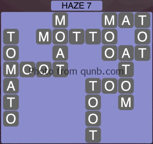 Wordscapes Haze 7 (Level 903) Answers