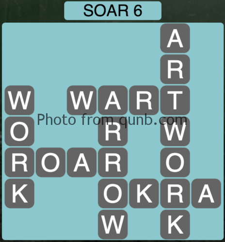 Wordscapes Soar 6 (Level 918) Answers