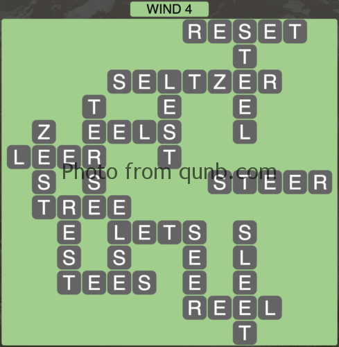 Wordscapes Wind 4 (Level 932) Answers
