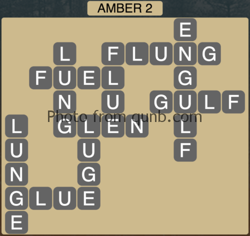 Wordscapes Amber 2 (Level 946) Answers