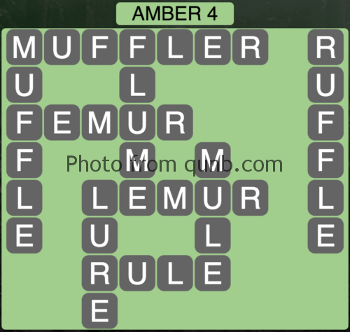 Wordscapes Amber 4 (Level 948) Answers