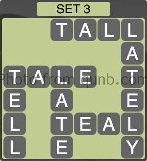 Wordscapes Set 3 (Level 979) Answers